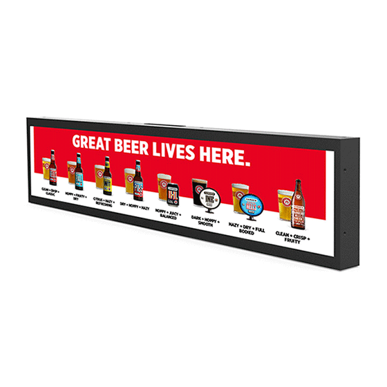 24'' LCD Bar Display
